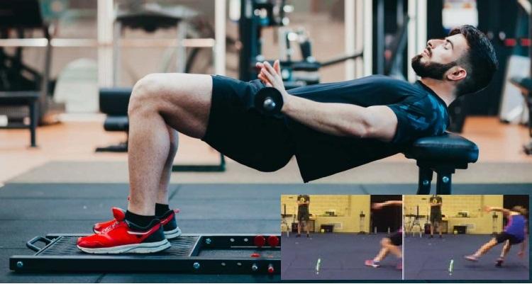 Efectos del empuje de cadera con barra sobre la mejora de rendimiento post-activación de la velocidad de cambio de dirección en hombres y mujeres