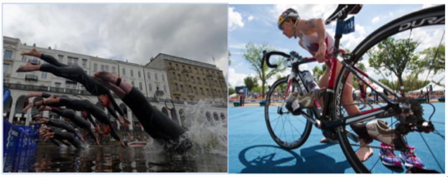 """El multideporte, el Triatlón y las nuevas modalidades: El """" Aquabike"""""""