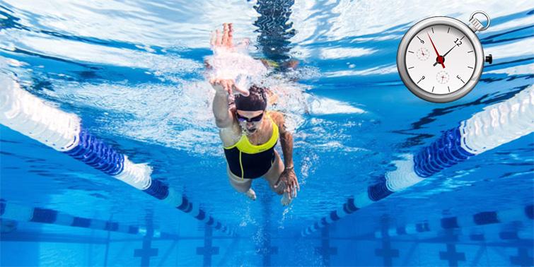 Test de campo para evaluar la resistencia en natación-  I  (Test 7 x 200)