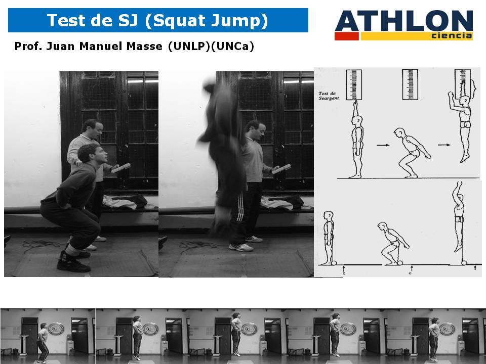 Evaluación de Saltos simples con Ergojump. Fútbol.