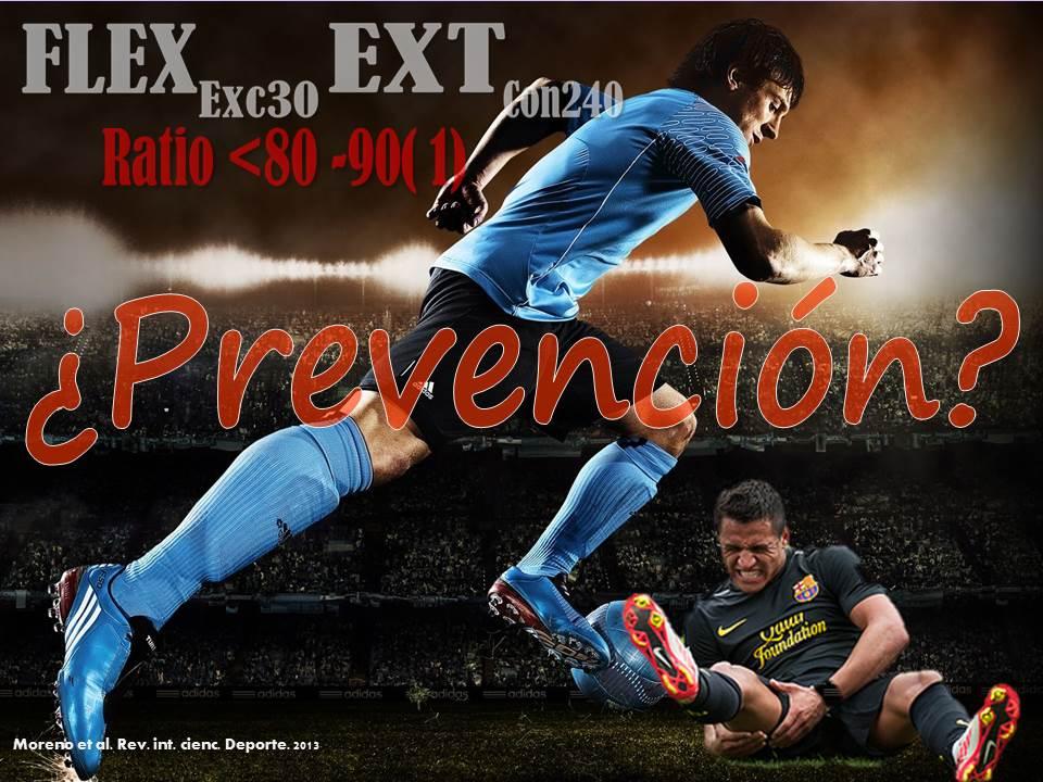 El uso de dinamometría isocinética para establecer perfiles de riesgo de lesión en los isquiotibiales en futbolistas profesionales