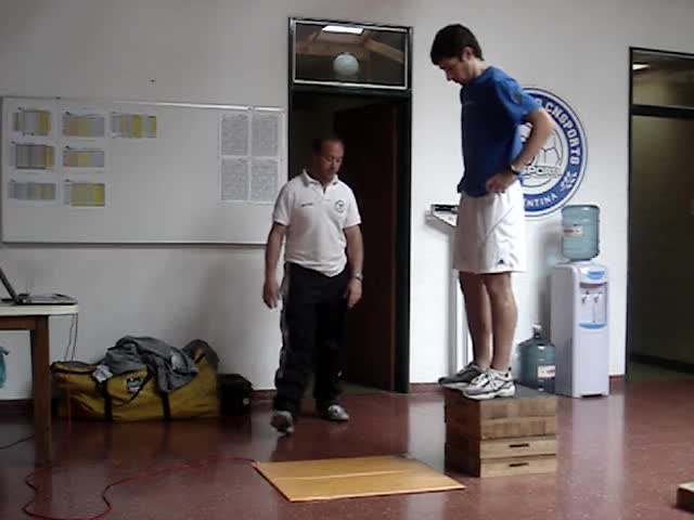 Test de DJ 40 cm (Drop Jump). Protocolo Incremental.