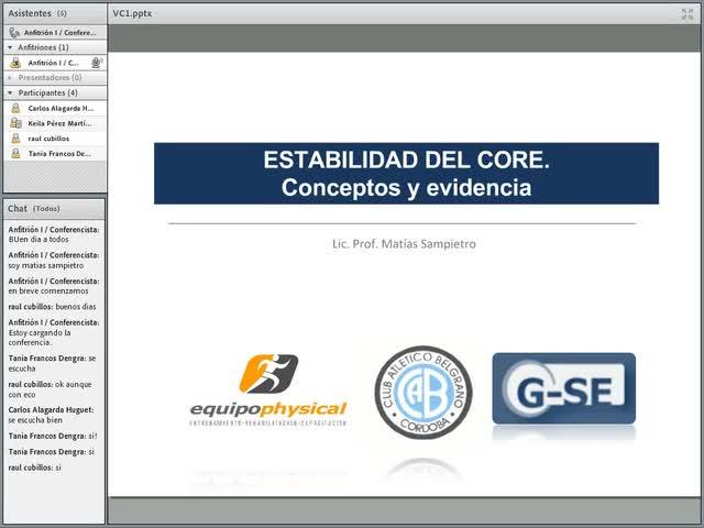 Estabilidad del Core: Conceptos y Evidencias