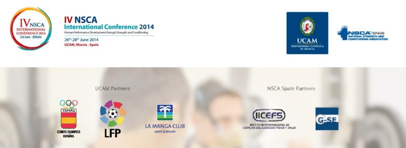 Dr. David García, Presidente del Comité Científico de la IV NSCA International Conference. UCAM Junio 2014