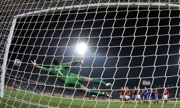 Análisis de los goles del Mundial de Fútbol Sudáfrica 2010 - Pelota Parada - Balón Detenido