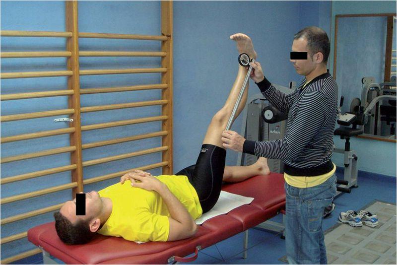 Pruebas de valoración de la flexibilidad isquiosural