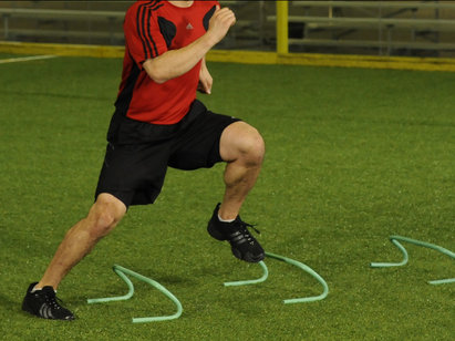 Entrenamiento de agilidad y rendimiento atlético deportivo