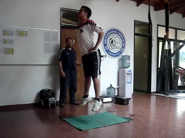"""Test de saltos vertical repetidos (30"""")"""