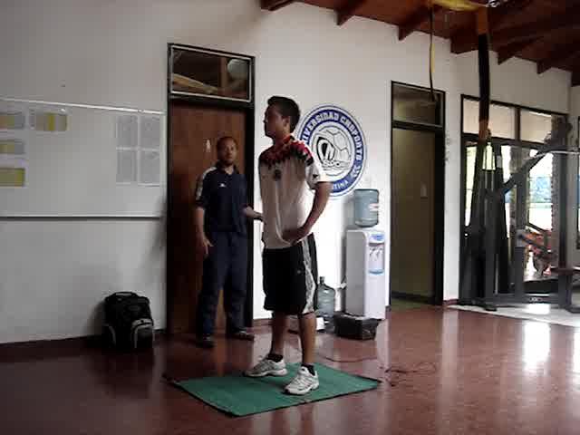"""Test de Salto vertical repetidos en 5"""""""