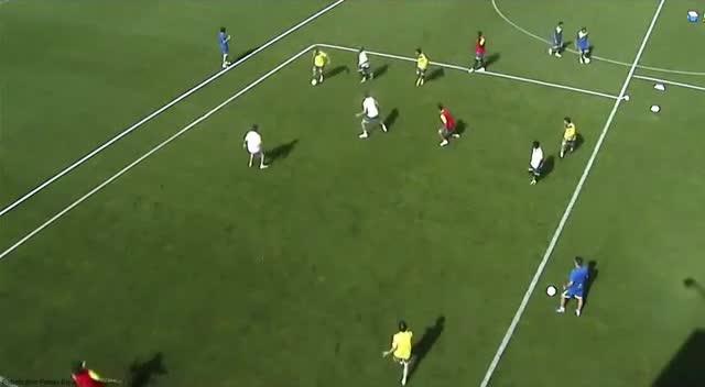 Entrenamiento de fútbol