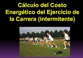 Costo energético de la carrera Intermitente