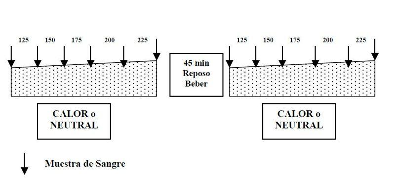 Influencia de las condiciones ambientales  sobre un test