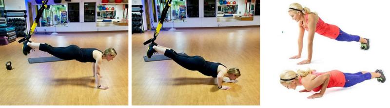 Activación muscular del 'puhs-up' tradicional vs en suspensión en mujeres atletas y mujeres sedentarias.