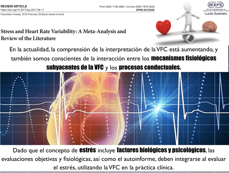 Estrés y Variabilidad de la Frecuencia Cardiaca