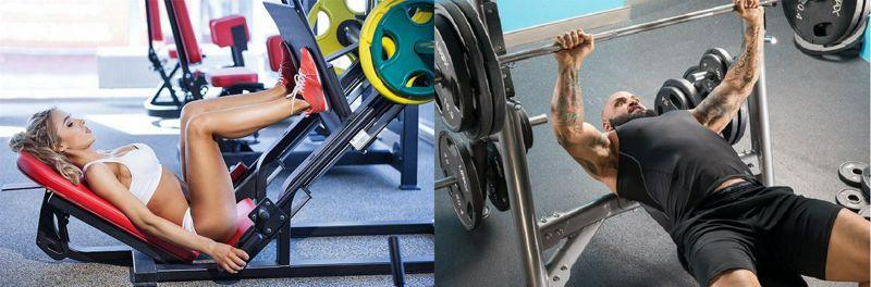 Los hombres exhiben mayor resistencia a la fatiga que las mujeres en los ejercicios alternados de press de banco y de press de piernas