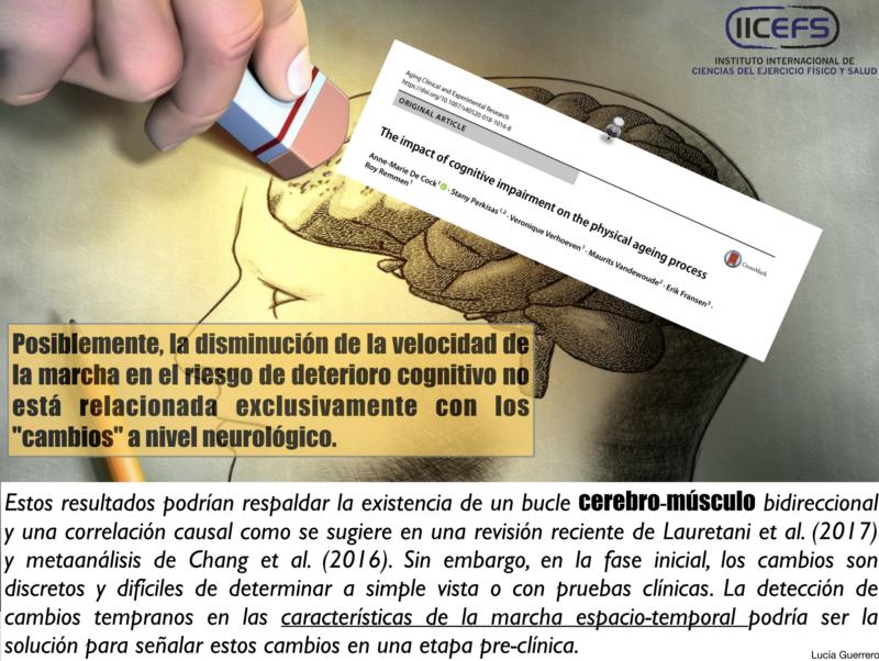Deterioro Físico y Degeneración Cognitiva, ¿Relaciones Causales?