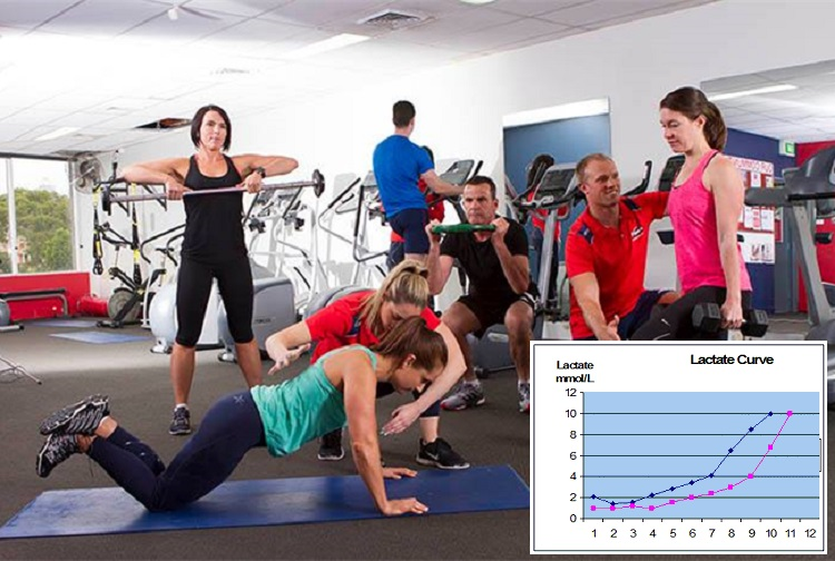 El umbral de lactato como medida del metabolismo aeróbico en el ejercicio de fuerza
