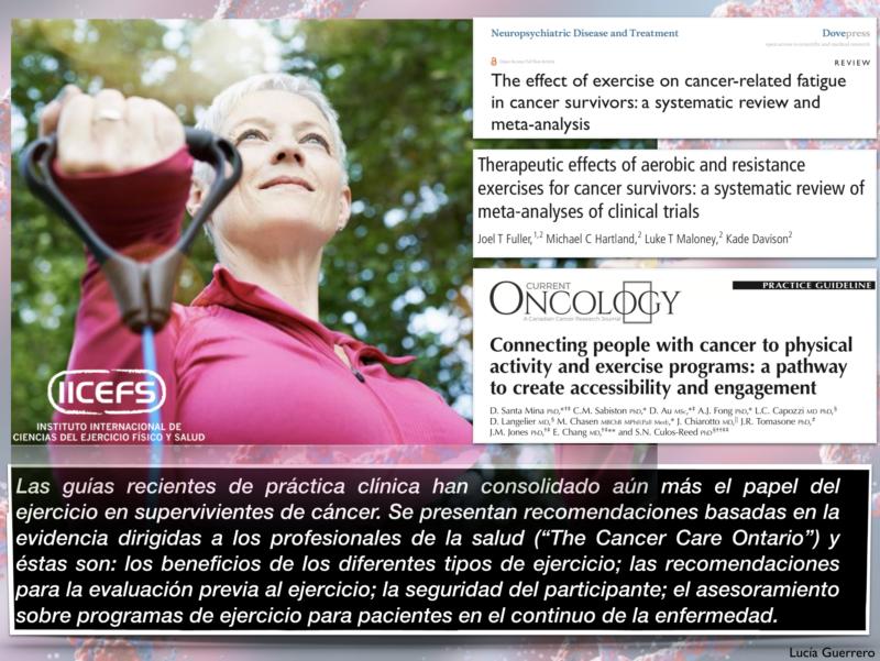 Promoción continua de salud en sobrevivientes de cáncer