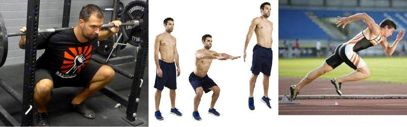 La fatiga neuromuscular y recuperación después del entrenamiento de sprint, de salto, y de fuerza pesado.
