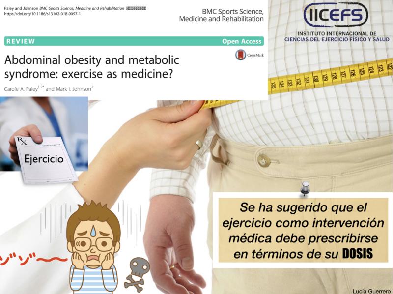 Síndrome Metabólico y Ejercicio Físico como Medicina