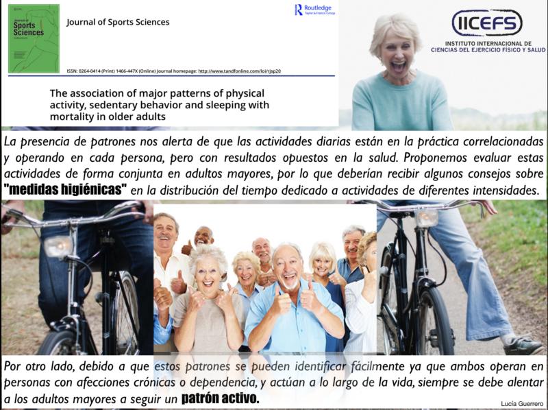 Actividad Física, Comportamiento Sedentario, Sueño y Mortalidad en Adultos Mayores