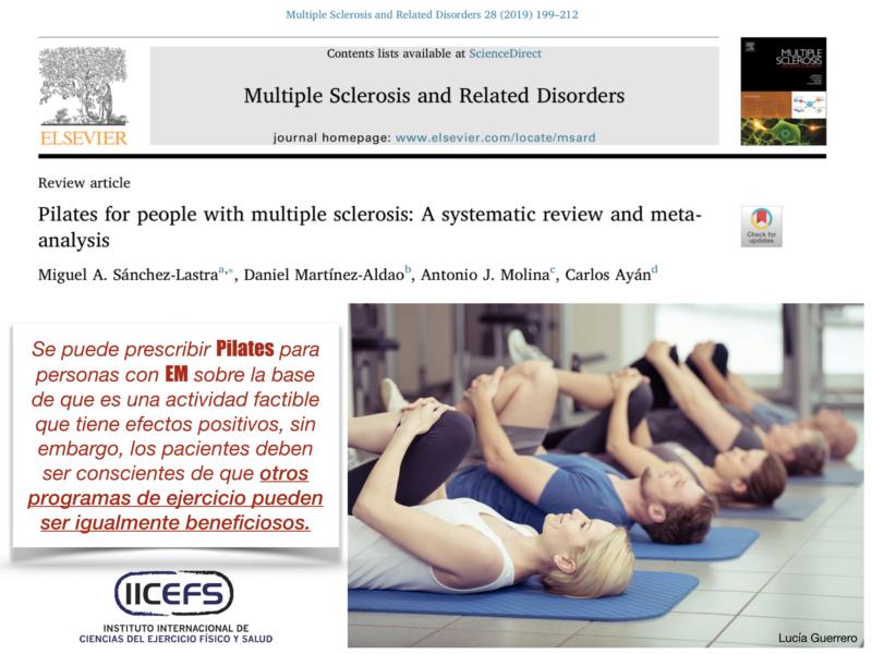 Pilates, ¿ejercicio beneficioso en la Esclerosis Múltiple?
