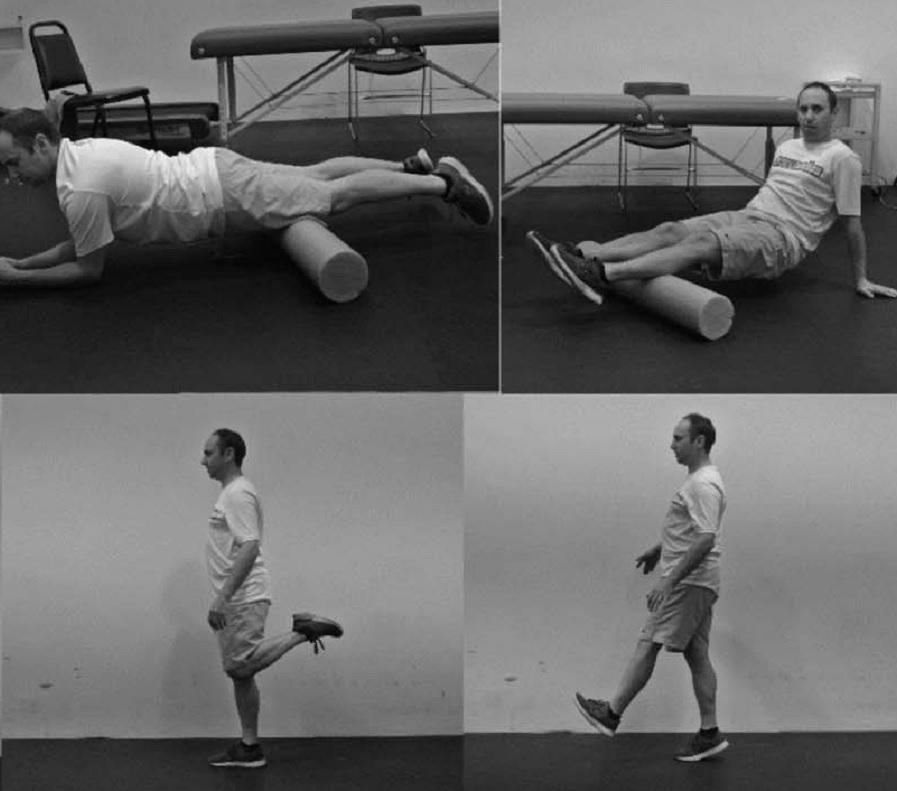 Efecto agudo del 'foam rolling' y del estiramiento dinámico sobre la flexibilidad y la altura del salto