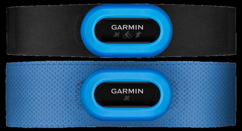 Figura 3: Bandas HRM-TRI y HRM-SWIM de Garmin