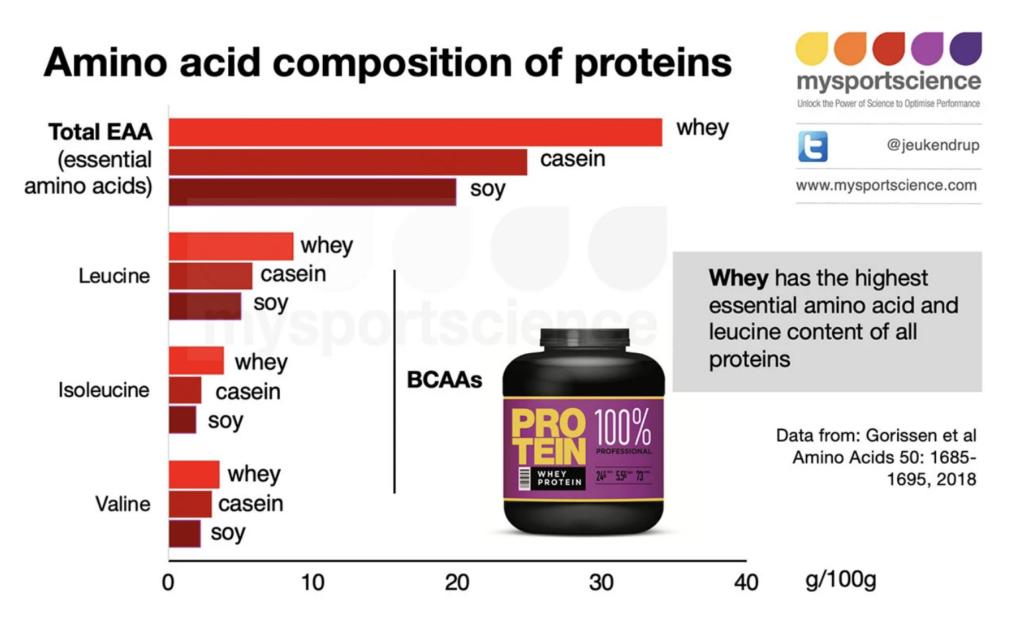 Composición de aminoácidos de las proteínas
